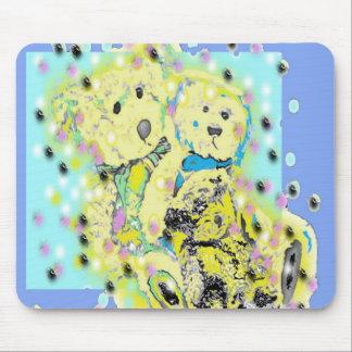 Teddy Bears Polka Dot Design Mouse Pad
