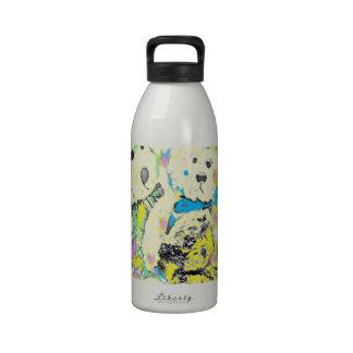 Teddy Bears Polka Dot Design Drinking Bottle