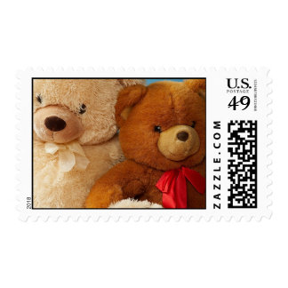Teddy Bears Postage Stamps