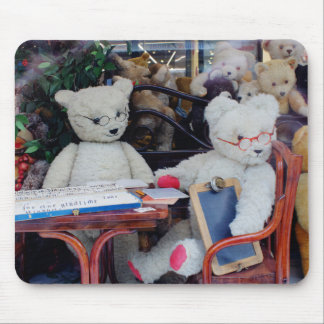 Teddy Bears Reading Lessons Mouse Pad