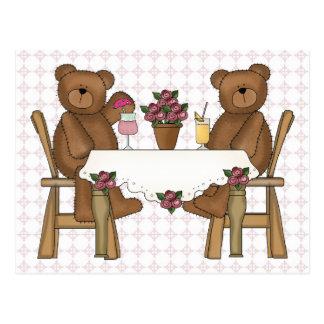 Teddy Bear's Time for Lemonade Postcard