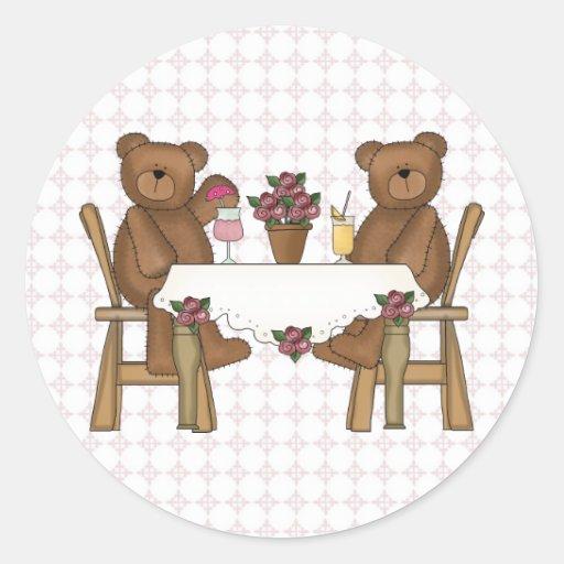 Teddy Bear's Time for Lemonade Stickers