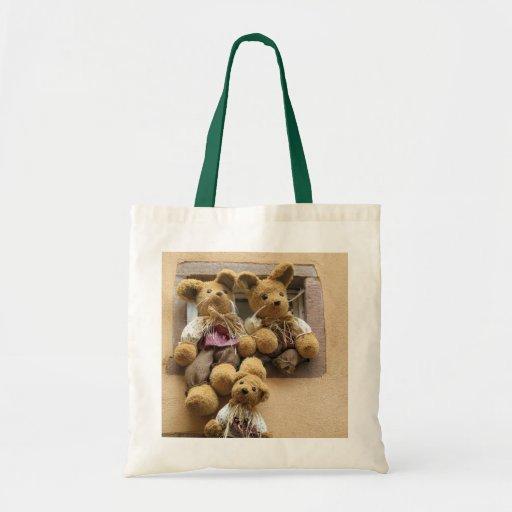 Teddy bears tote bags