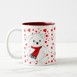 Teddy Bears Trio mug