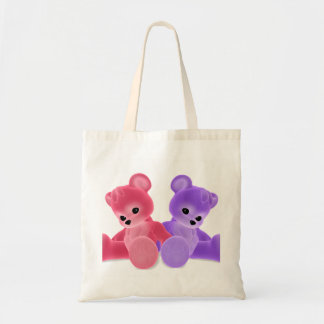 Teddy Bearz Budget Tote Bag