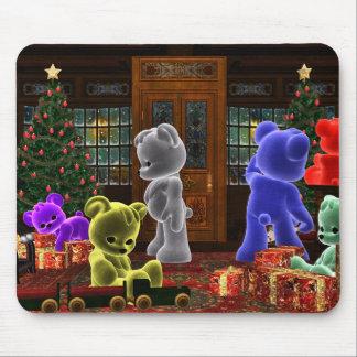 Teddy Bearz Christmas Mousepad