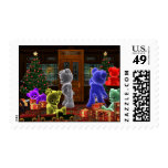 Teddy Bearz Christmas Stamp