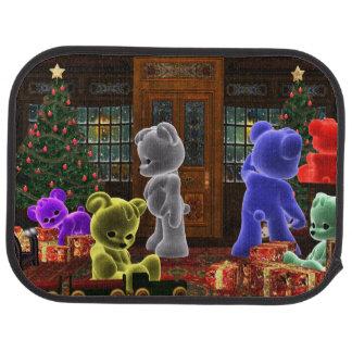 Teddy Bearz Christmas Car Mat