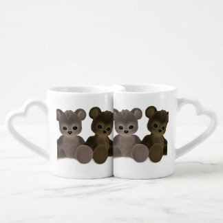 Teddy Bearz Coffee Mug Set