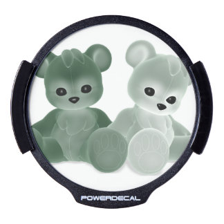 Teddy Bearz LED Window Decal