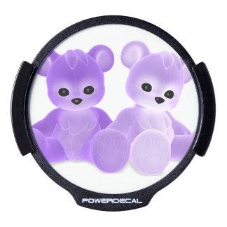 Teddy Bearz LED Car Window Decal