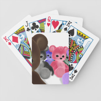 Teddy Bearz Group Bicycle Playing Cards