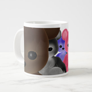 Teddy Bearz Group Large Coffee Mug