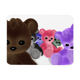 Teddy Bearz Group Large Magnet