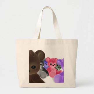Teddy Bearz Group Large Tote Bag