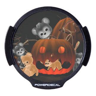 Teddy Bearz Halloween #2 LED Car Decal