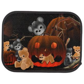 Teddy Bearz Halloween #2 Car Mat