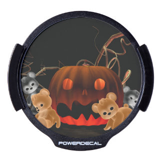 Teddy Bearz Halloween LED Car Window Decal