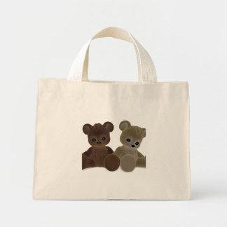 Teddy Bearz Mini Tote Bag