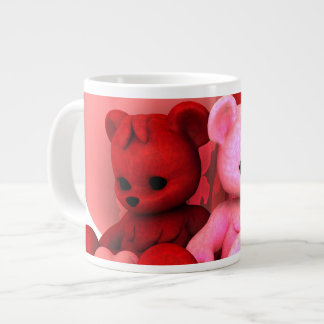 Teddy Bearz Valentine Giant Coffee Mug