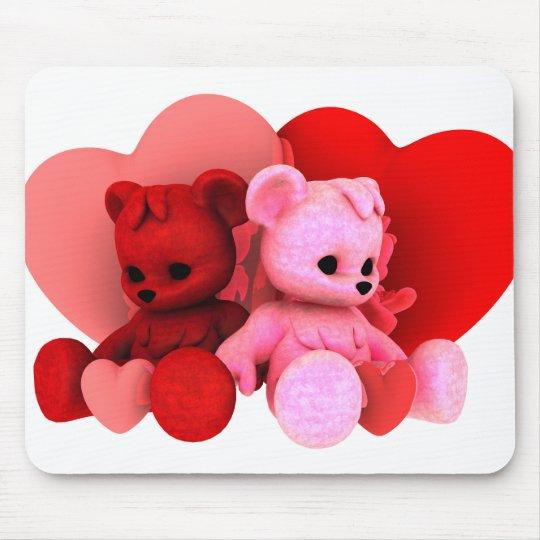 Teddy Bearz Valentine Mouse Pad