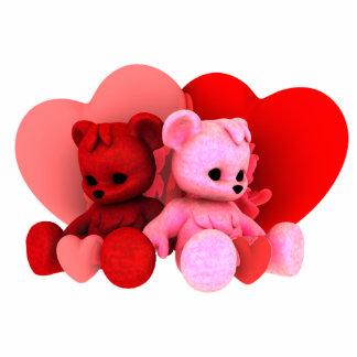 Teddy Bearz Valentine Phot Sculpture V2