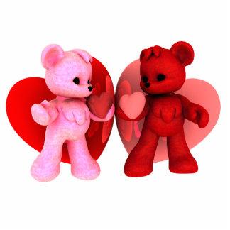 Teddy Bearz Valentine Photo Sculpture V1