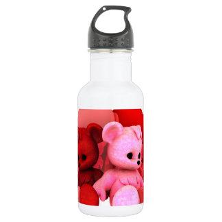 Teddy Bearz Valentine Stainless Steel Water Bottle