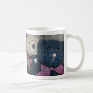 Teddy Blue Classic White Coffee Mug