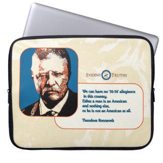 Teddy Blue - Theodore Roosevelt 1 Laptop Sleeve