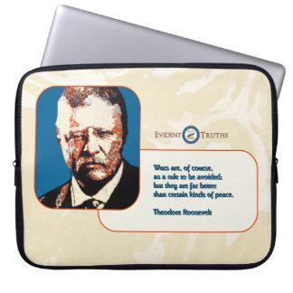 Teddy Blue - Theodore Roosevelt 3 Laptop Sleeve