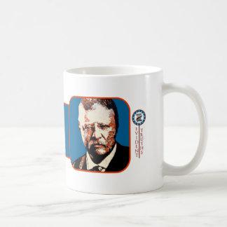 Teddy Blue - Theodore Roosevelt 4 Classic White Coffee Mug