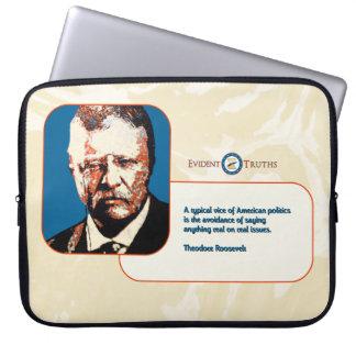 Teddy Blue - Theodore Roosevelt 4 Laptop Sleeve