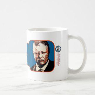 Teddy Blue - Theodore Roosevelt 6 Classic White Coffee Mug
