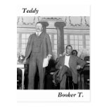 Teddy & Booker T., early 1900s Post Card