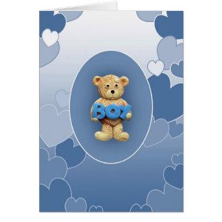 Teddy Boy Card