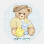 Teddy Boy - Easter Sticker