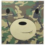 Teddy Camo Rag Printed Napkins