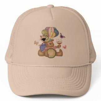 Teddy Celbrates New Year hat