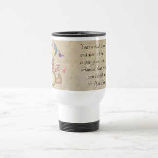 Teddy Celebreates New Year Coffee Mugs