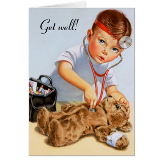 Teddy Checkup Card
