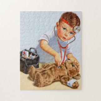 Teddy Checkup Jigsaw Puzzle