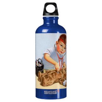 Teddy Checkup Water Bottle