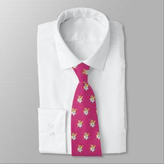 Teddy Christmas Angel (magenta) Tie