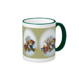 teddy christmas mug