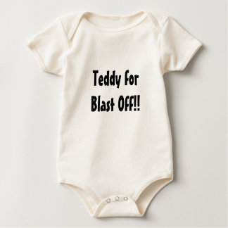 teddy for blast off ready for baby creeper
