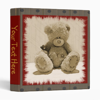 Teddy for You Binder