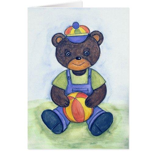 Teddy Greeting Card