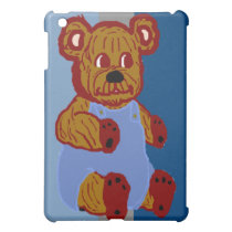 Teddy in Overalls iPad Case
