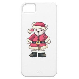 Teddy in Santa Suit iPhone 5 Covers